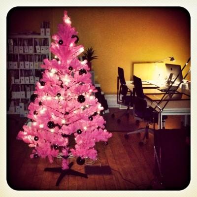 JAM's Pink Christmas Tree